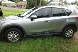 2013 Mazda CX-5 KE1031 MY13 Maxx SKYACTIV-Drive AWD Sport Silver 6 Speed Sports Automatic Wagon.