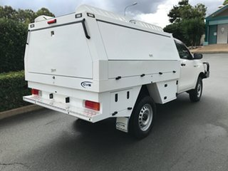 2017 Toyota Hilux GUN125R Workmate Glacier 6 speed Automatic Cab Chassis