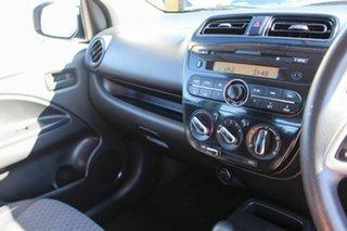 2017 Mitsubishi Mirage LA MY17 ES Blue 1 Speed Constant Variable Hatchback