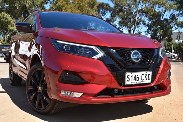 Demo Nissan Qashqai J11 Series 3 MY20 Midnight Edition X-tronic St Marys, 2020 Nissan Qashqai J11 Series 3 MY20 Midnight Edition X-tronic Magnetic Red 1 Speed