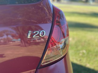 2014 Hyundai i20 PB MY14 Active Red Passion 4 Speed Automatic Hatchback