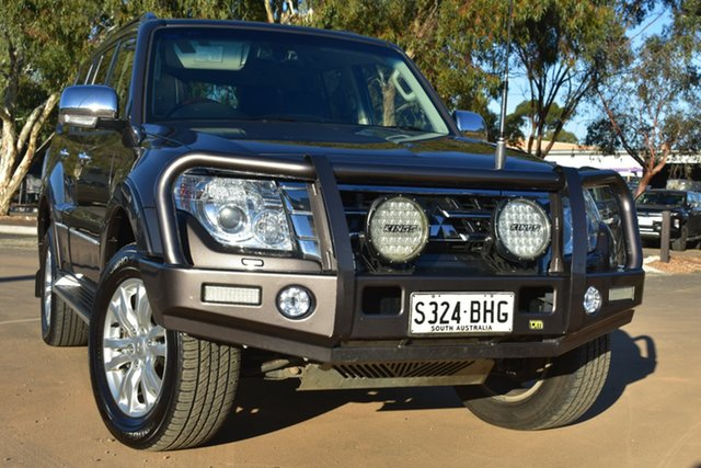 Used Mitsubishi Pajero NX MY15 Exceed St Marys, 2015 Mitsubishi Pajero NX MY15 Exceed Grey 5 Speed Sports Automatic Wagon