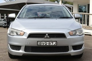 2010 Mitsubishi Lancer CJ MY10 ES Sportback Silver 5 Speed Manual Hatchback