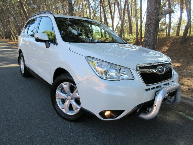 Used Subaru Forester S4 MY15 2.0D-L CVT AWD Reynella, 2015 Subaru Forester S4 MY15 2.0D-L CVT AWD White 7 Speed Constant Variable Wagon