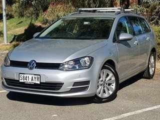 2013 Volkswagen Golf VII MY14 90TSI DSG Comfortline Silver 7 Speed Sports Automatic Dual Clutch