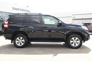 2017 Toyota Landcruiser Prado GDJ150R GXL Ebony 6 Speed Automatic Wagon