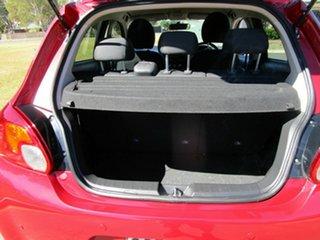 2016 Mitsubishi Mirage LA LS Red Continuous Variable Sedan