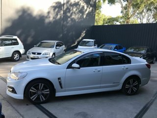 2015 Holden Commodore VF MY15 SV6 Storm White 6 Speed Automatic Sedan