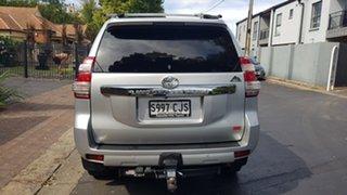 2014 Toyota Landcruiser Prado KDJ150R MY14 Altitude (4x4) Silver & Chrome 5 Speed Sequential Auto