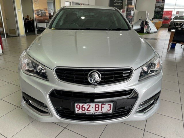 Used Holden Commodore VF MY15 SV6 Storm Mount Gravatt, 2015 Holden Commodore VF MY15 SV6 Storm Silver 6 Speed Sports Automatic Sedan