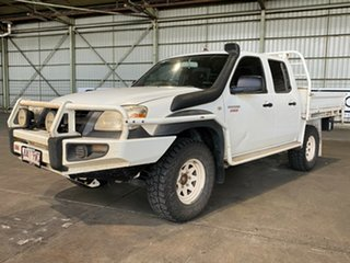 2011 Mazda BT-50 UNY0E4 DX White 5 Speed Manual Utility.