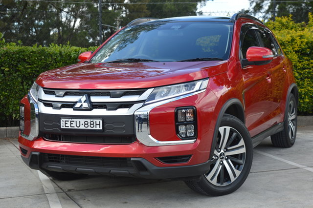 Used Mitsubishi ASX XD MY20 Exceed 2WD Maitland, 2019 Mitsubishi ASX XD MY20 Exceed 2WD Red 1 Speed Constant Variable Wagon
