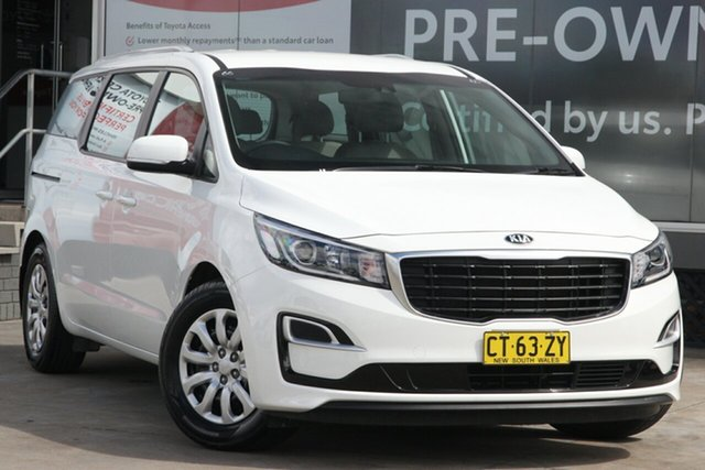 Pre-Owned Kia Carnival YP MY19 S Guildford, 2019 Kia Carnival YP MY19 S White 8 Speed Sports Automatic Wagon