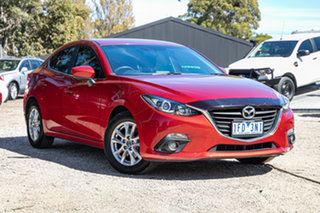 2015 Mazda 3 BM5278 Maxx SKYACTIV-Drive Soul Red 6 Speed Sports Automatic Sedan.