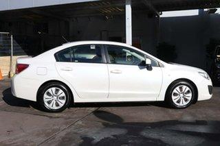 2012 Subaru Impreza G4 MY12 2.0i AWD White 6 Speed Manual Sedan.