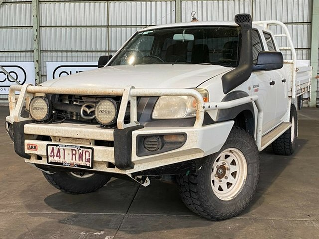 Used Mazda BT-50 UNY0E4 DX Rocklea, 2011 Mazda BT-50 UNY0E4 DX White 5 Speed Manual Utility