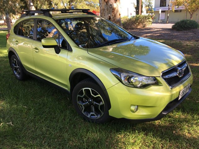 Used Subaru XV G4X MY15 2.0i-L Lineartronic AWD Cheltenham, 2015 Subaru XV G4X MY15 2.0i-L Lineartronic AWD Green 6 Speed Constant Variable Wagon