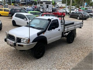 2002 Nissan Navara D22 STD (4x4) White 5 Speed Manual 4x4 Cab Chassis