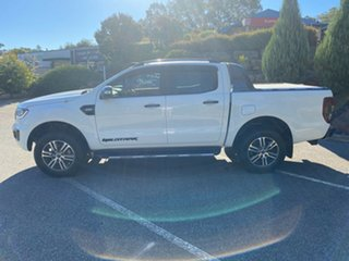 2018 Ford Ranger PX MkIII 2019.00MY Wildtrak Frozen White 6 Speed Sports Automatic Utility