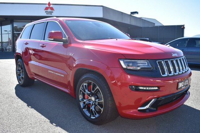 Used Jeep Grand Cherokee WK MY15 SRT Wantirna South, 2016 Jeep Grand Cherokee WK MY15 SRT Red 8 Speed Sports Automatic Wagon