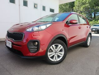 2017 Kia Sportage QL MY17 Si 2WD Red 6 Speed Sports Automatic Wagon.