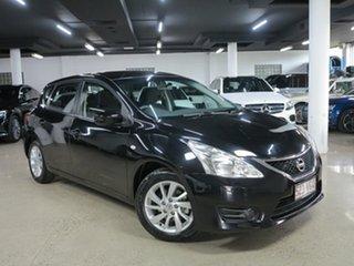2013 Nissan Pulsar C12 ST Black 1 Speed Constant Variable Hatchback.