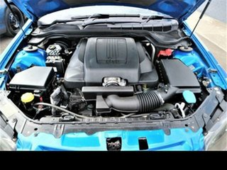 2011 Holden Commodore VE II SV6 Thunder Blue 6 Speed Manual Utility