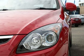2012 Hyundai i30 FD MY11 SX Red 4 Speed Automatic Hatchback