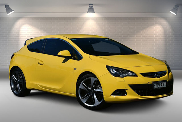Used Opel Astra AS GTC Sport Nailsworth, 2012 Opel Astra AS GTC Sport Yellow 6 Speed Manual Hatchback