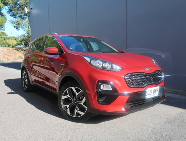 Used Kia Sportage QL MY19 Si AWD Premium Reynella, 2018 Kia Sportage QL MY19 Si AWD Premium Red 8 Speed Sports Automatic Wagon