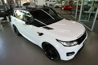 2016 Land Rover Range Rover Sport L494 16.5MY V6SC HST White 8 Speed Sports Automatic Wagon
