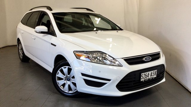 Used Ford Mondeo MC LX PwrShift TDCi Elizabeth, 2012 Ford Mondeo MC LX PwrShift TDCi White 6 Speed Sports Automatic Dual Clutch Wagon