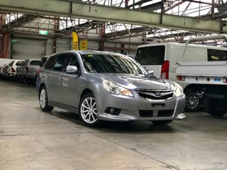 2010 Subaru Liberty B5 MY10 2.5i Lineartronic AWD Premium Silver 6 Speed Constant Variable Wagon.