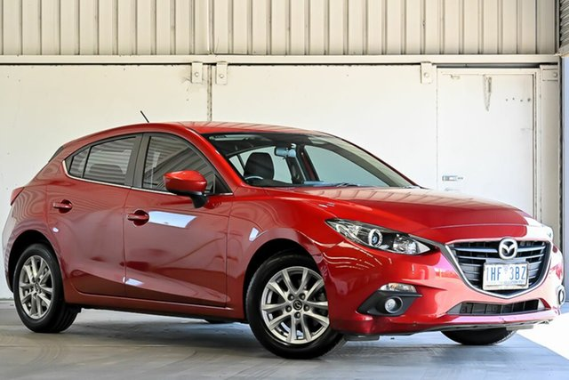 Used Mazda 3 BM5478 Maxx SKYACTIV-Drive Laverton North, 2016 Mazda 3 BM5478 Maxx SKYACTIV-Drive Red 6 Speed Sports Automatic Hatchback