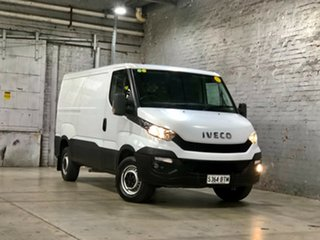 2016 Iveco Daily MY14 35S17 LWB/Mid (WB4100) White 8 Speed Automatic Van.