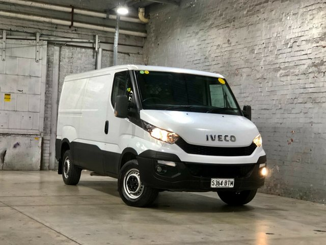 Used Iveco Daily MY14 35S17 LWB/Mid (WB4100) Mile End South, 2016 Iveco Daily MY14 35S17 LWB/Mid (WB4100) White 8 Speed Automatic Van