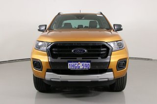 2021 Ford Ranger PX MkIII MY21.25 Wildtrak 3.2 (4x4) Orange 6 Speed Automatic Double Cab Pick Up.