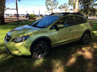 2015 Subaru XV G4X MY15 2.0i-L Lineartronic AWD Green 6 Speed Constant Variable Wagon.