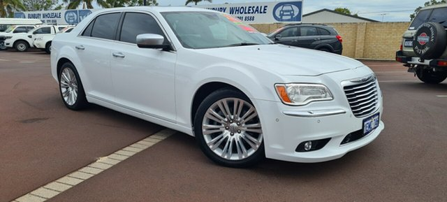 Used Chrysler 300 LX MY14 C E-Shift Luxury East Bunbury, 2014 Chrysler 300 LX MY14 C E-Shift Luxury White 8 Speed Sports Automatic Sedan