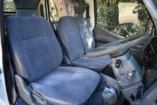 1999 Mitsubishi Canter FB511BWW White Crew Cab Chassis 2.8l 4x2