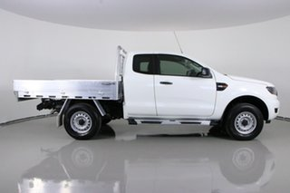 2017 Ford Ranger PX MkII MY17 XL 2.2 Hi-Rider (4x2) White 6 Speed Automatic Super Cab Chassis