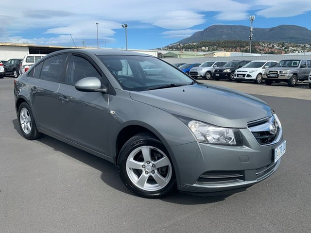 Used Holden Cruze JG CD Moonah, 2011 Holden Cruze JG CD Grey 6 Speed Sports Automatic Sedan