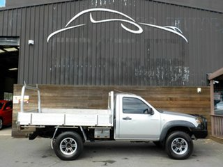 2007 Mazda BT-50 UNY0E3 DX Silver 5 Speed Manual Cab Chassis.