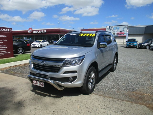 Used Holden Trailblazer RG MY18 LTZ North Rockhampton, 2017 Holden Trailblazer RG MY18 LTZ Silver 6 Speed Sports Automatic Wagon