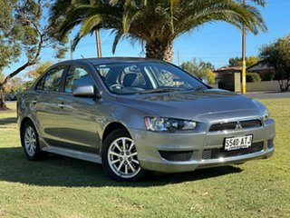 2012 Mitsubishi Lancer CJ MY13 LX Silver 6 Speed Constant Variable Sedan.