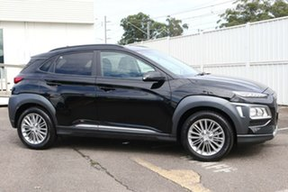 2019 Hyundai Kona OS.2 MY19 Elite 2WD Black 6 Speed Sports Automatic Wagon.