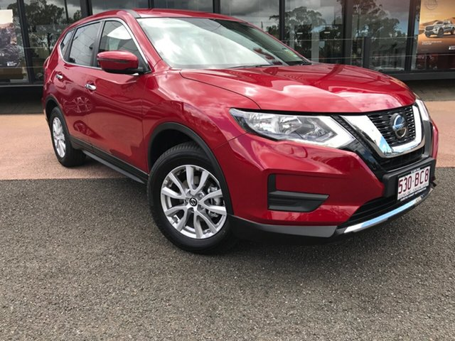 Demo Nissan X-Trail T32 MY21 ST X-tronic 2WD South Gladstone, 2021 Nissan X-Trail T32 MY21 ST X-tronic 2WD Red 7 Speed Constant Variable Wagon