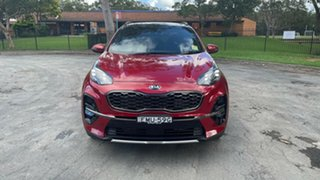 2021 Kia Sportage QL MY21 GT-Line AWD Fiery Red 8 Speed Sports Automatic Wagon.