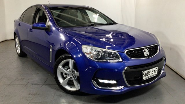 Used Holden Commodore VF II MY16 SV6 Elizabeth, 2016 Holden Commodore VF II MY16 SV6 Blue 6 Speed Sports Automatic Sedan