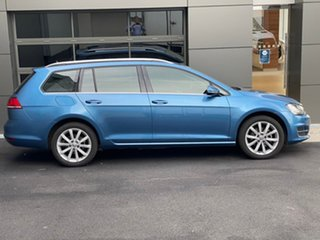 2016 Volkswagen Golf VII MY16 110TSI DSG Highline Blue 7 Speed Sports Automatic Dual Clutch Wagon.